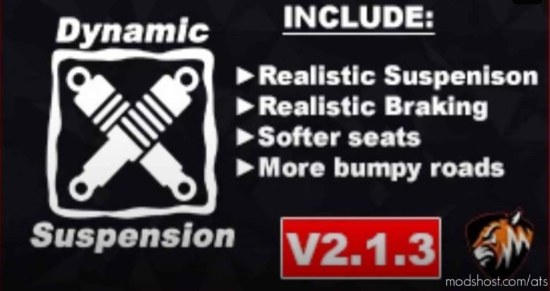 Dynamic Suspension V2.1.3 for American Truck Simulator