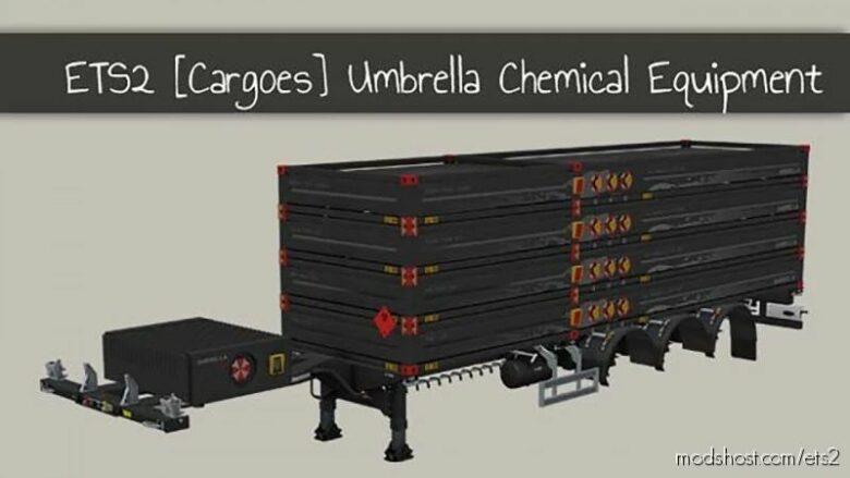 Chemical Equipment Cargoes V1.1 [1.40] for Euro Truck Simulator 2