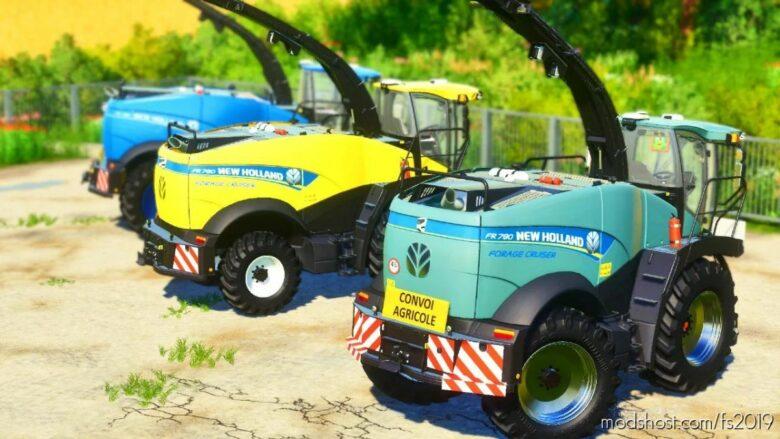 NEW Holland FR 780 V2.0 for Farming Simulator 19