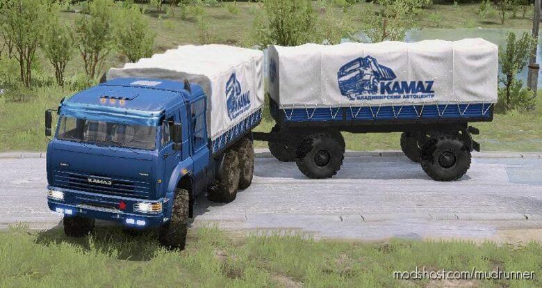 """Kamaz """"Batyr"""" Truck V31.08.21 for MudRunner"""