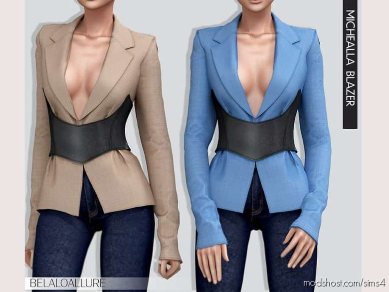 Michella Blazer for The Sims 4