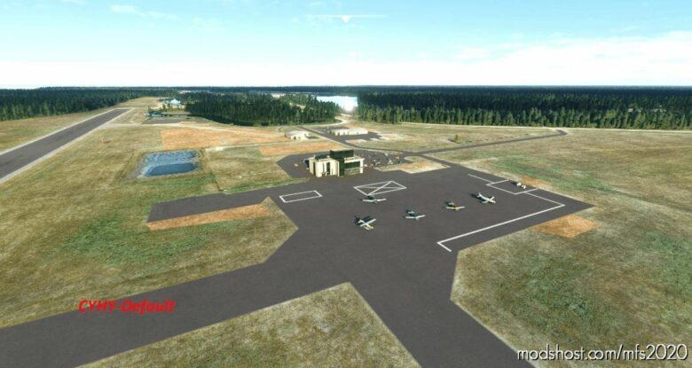 Cyhy_Hay River Airport, Northwest Territories, Canada for Microsoft Flight Simulator 2020