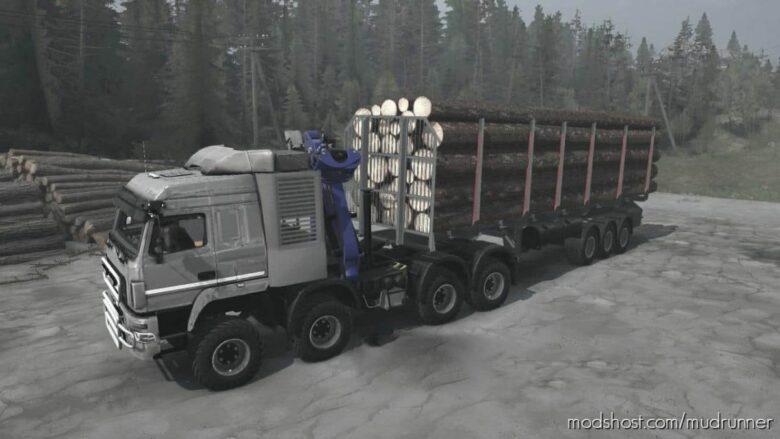 Maz-Man 8×8 Truck V03.09.21 for MudRunner