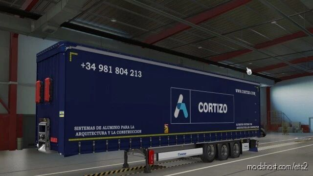 SCS Krone Megaliner Cortizo for Euro Truck Simulator 2