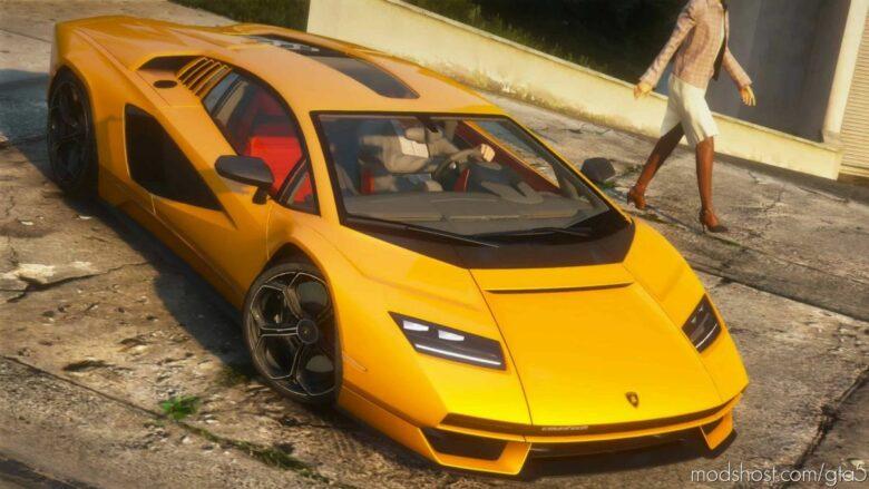 2022 Lamborghini Countach LPI 800-4 for Grand Theft Auto V