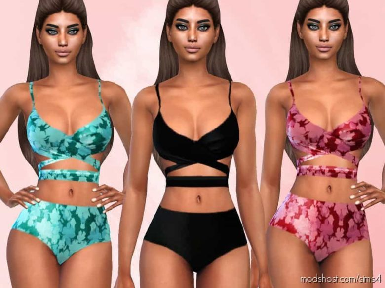 Summer TWO Piece Bikini SET for The Sims 4