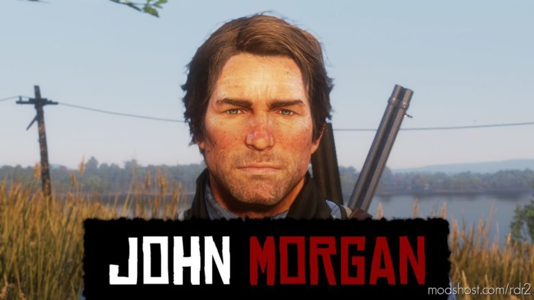 John Morgan for Red Dead Redemption 2