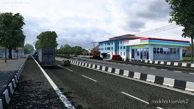 Map Jowo (Javanese) Map Addon [1.41.X] for Euro Truck Simulator 2