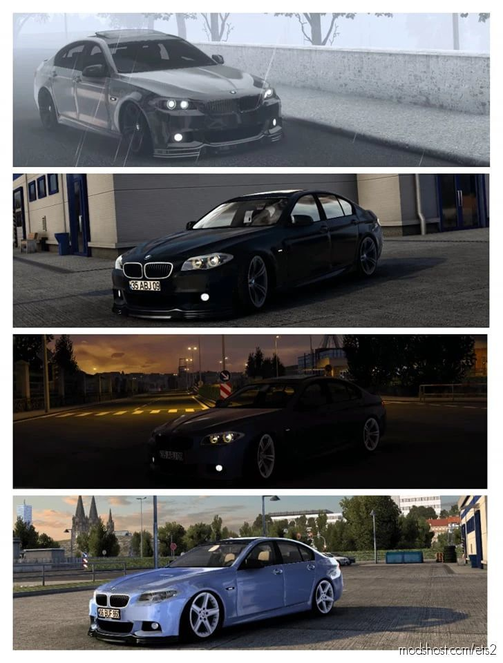 BMW 5 Series F10 [1.41.X] for Euro Truck Simulator 2