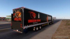 Oregon State Football Combo Skin [1.41] for American Truck Simulator