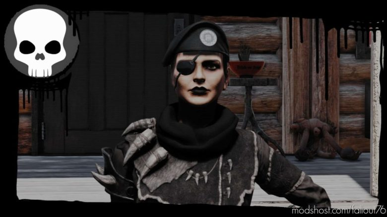 Gloomy Raider Frames for Fallout 76