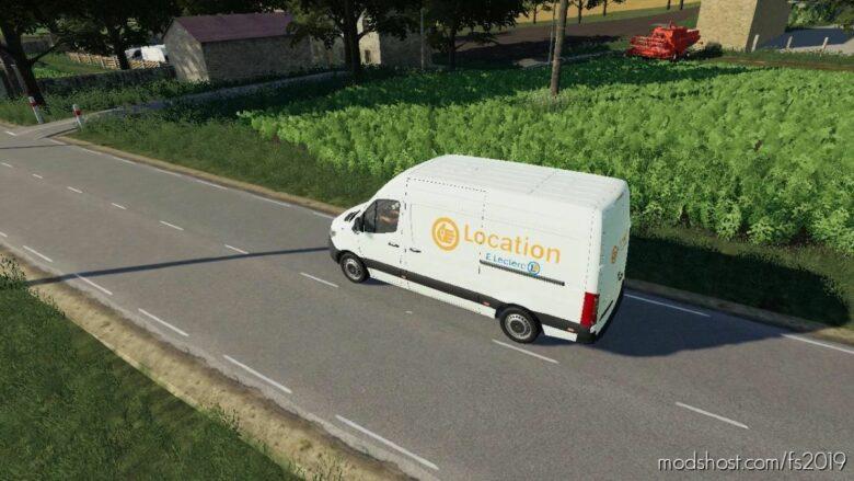 Mercedes Location for Farming Simulator 19