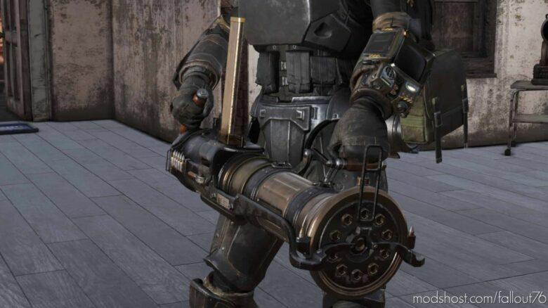 Appalachian Thunder Pipe Gatling GUN for Fallout 76