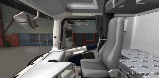 Scania R 2009 Blue – White Interior [1.41] for Euro Truck Simulator 2