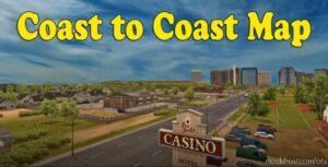 Coast To Coast Map V2.12.0.3 for American Truck Simulator