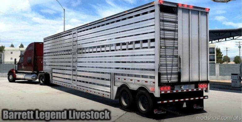Barrett Legend Livestock Trailer V1.1 [1.41.X] for American Truck Simulator
