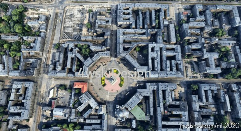 ŁóDź City for Microsoft Flight Simulator 2020