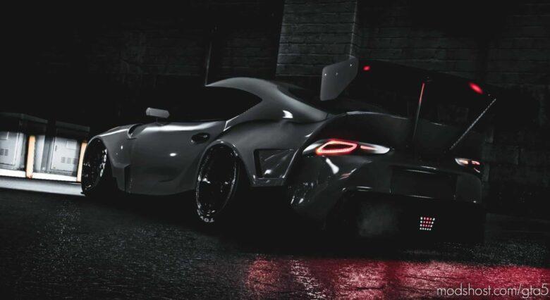 2020 Toyota Supra ( MK-V ) Drift Machine V1.2 for Grand Theft Auto V