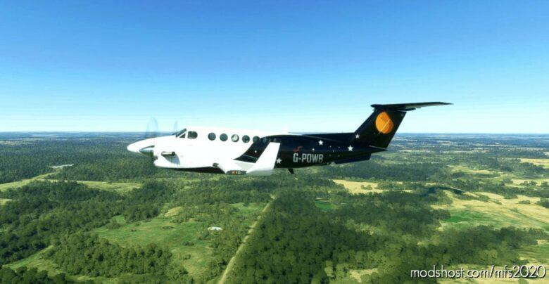 Titan Airways King AIR 350I for Microsoft Flight Simulator 2020