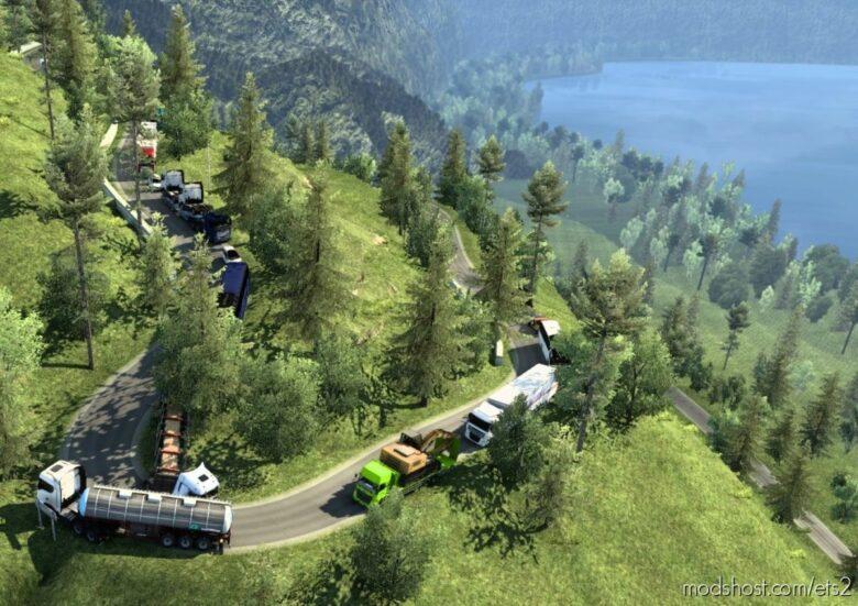 NEW Map Sitinjau Lauik V5 [1.36 – 1.41.X] for Euro Truck Simulator 2