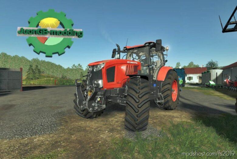 Kubota M7 for Farming Simulator 19