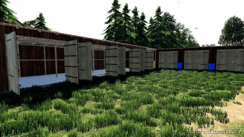 BIG And Medium And Small Sheds for Farming Simulator 19