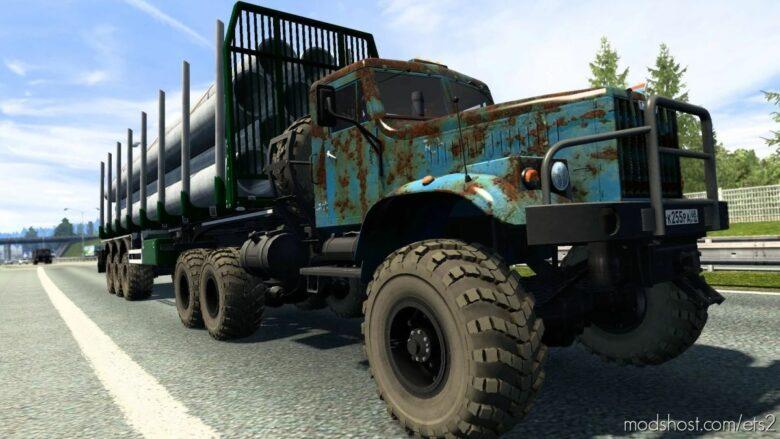 Kraz 255/258 [1.41.X] for Euro Truck Simulator 2