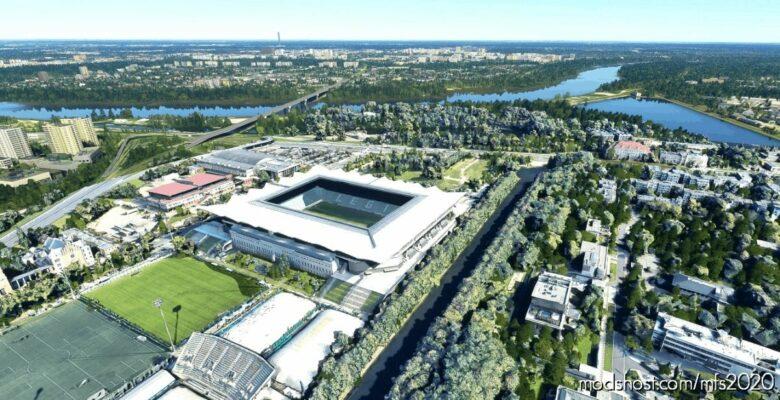 Stadion Miejski Legii Warszawa – Warsaw – Poland for Microsoft Flight Simulator 2020