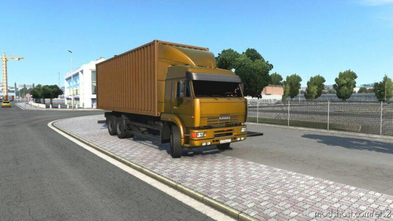 Kamaz 4326-43118-6350-65221 [1.41.X] for Euro Truck Simulator 2