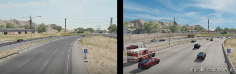 Minor Urban Overhaul V13 for American Truck Simulator