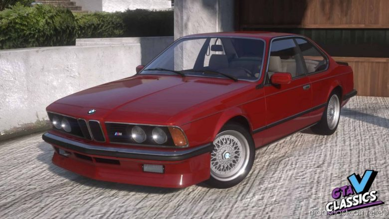 1986 BMW M635 CSI V1.0A for Grand Theft Auto V