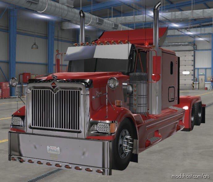 International 9900I Truck V1.2 [1.41.X] for American Truck Simulator