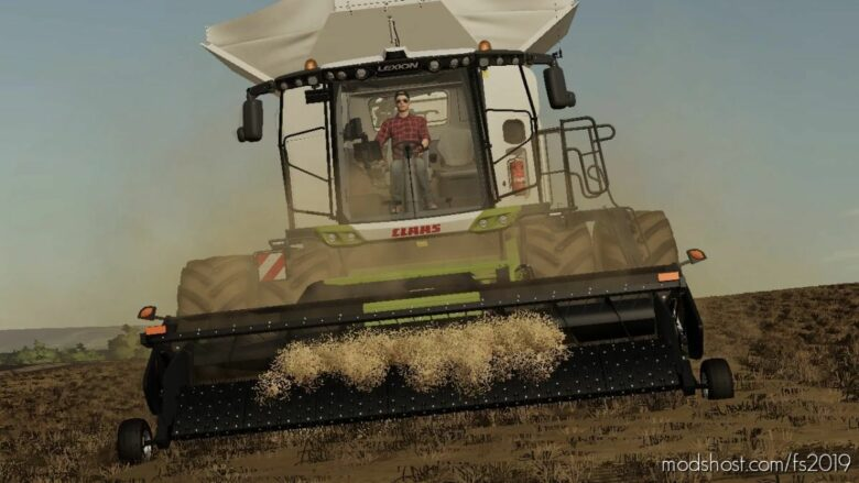 Claas Lexion 8000 for Farming Simulator 19