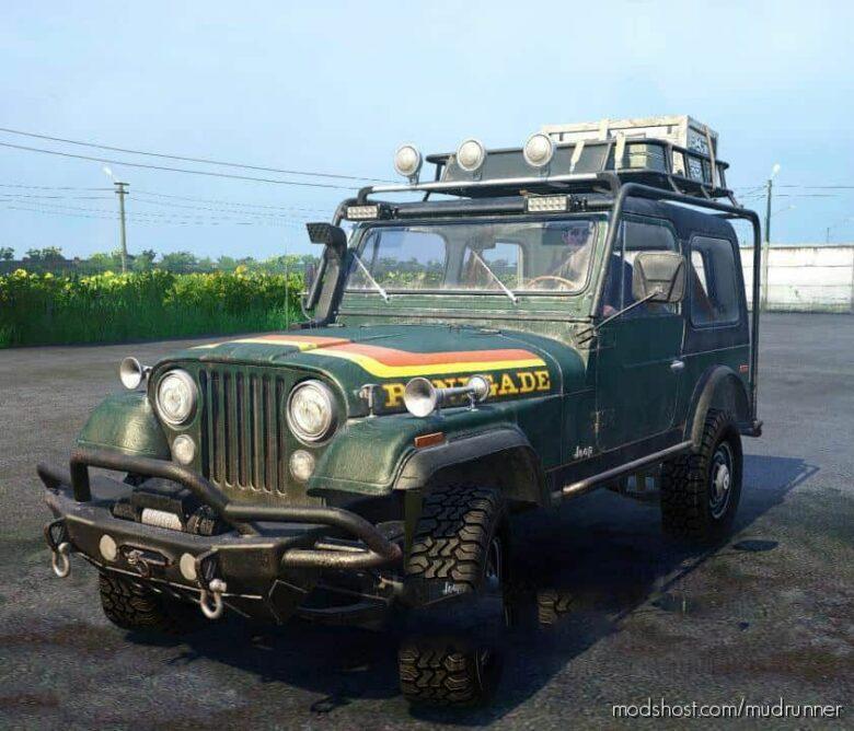 Jeep CJ-7 Renegade Mod for MudRunner
