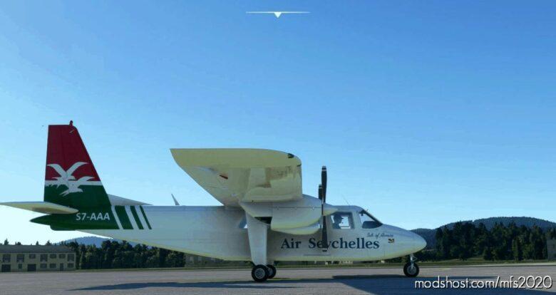BN2A AIR Seycheles S7-Aaa Request V1.1 for Microsoft Flight Simulator 2020