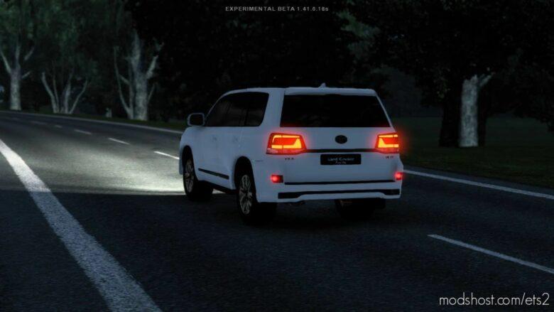 Toyota Land Cruiser VX.R V8 V2.0.4 for Euro Truck Simulator 2