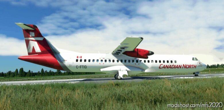 Canadian North – ATR 72-600 [Community Version] for Microsoft Flight Simulator 2020
