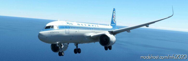 "[A32NX] Olympic Airways Sx-Bke ""Stagira"" 8K for Microsoft Flight Simulator 2020"