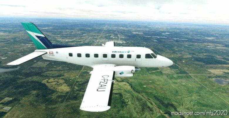 Westjet Embraer 110 Banderante for Microsoft Flight Simulator 2020