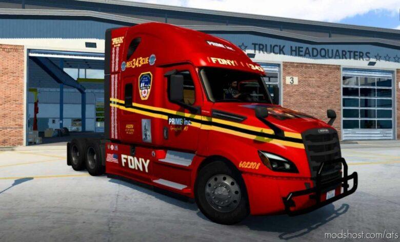 Prime INC. Fdny Squad 343 Skin for American Truck Simulator