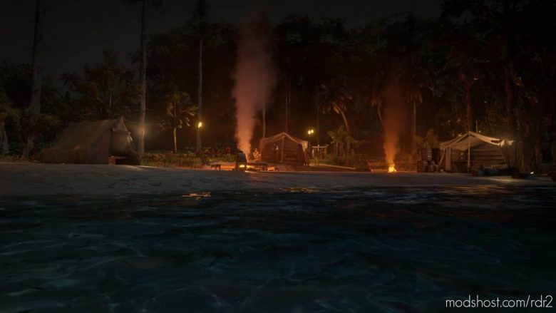 Tahiti Dream Custom Guarma Camp for Red Dead Redemption 2