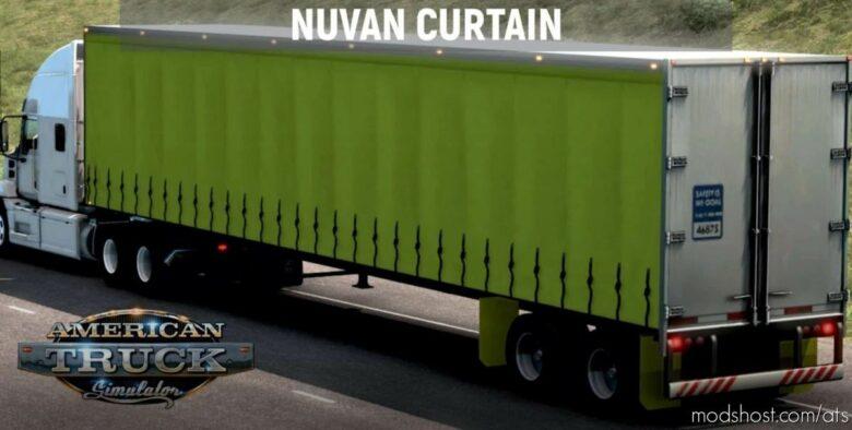 Nuvan Curtain Trailer V2.1 [1.41.X] for American Truck Simulator