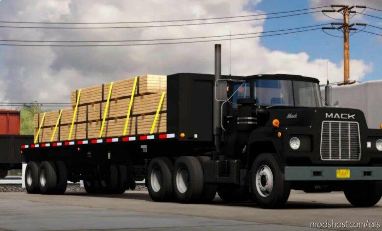 Ownable Fruehauf Flatbed Trailer V1.2 [1.41.X] for American Truck Simulator