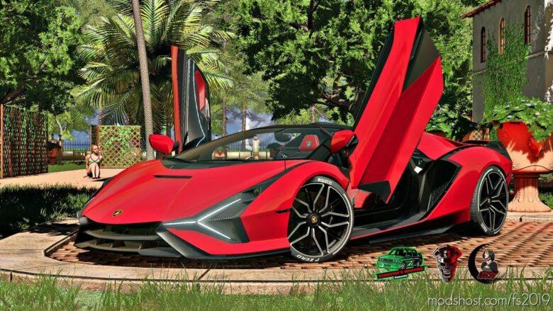 Lamborghini Sian Roadster for Farming Simulator 19