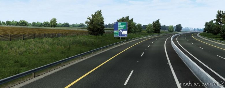 Promods Addon: Ireland Map V0.1.1 – Tuam And Area [1.41] for Euro Truck Simulator 2