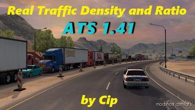 Real Traffic Density [1.41] for American Truck Simulator