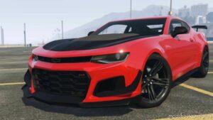 2021 / 22 Chevrolet Camaro Zl1-1Le Edition V1.01 for Grand Theft Auto V