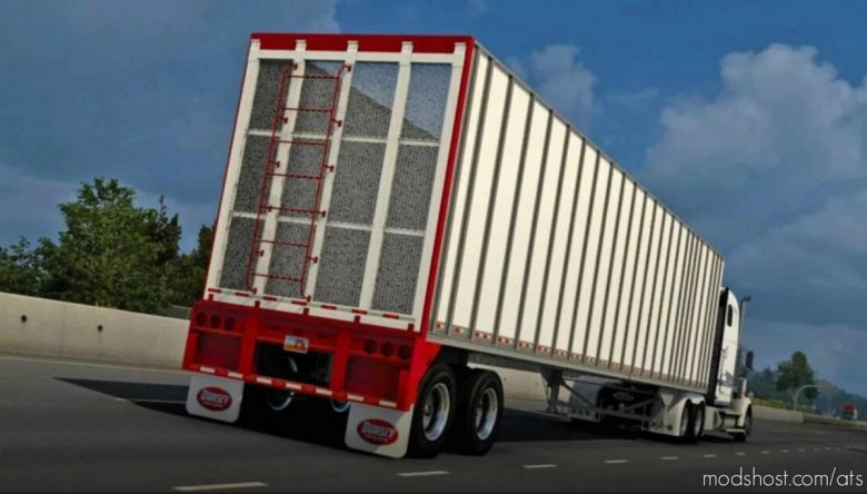 Dorsey Chipvan Trailer V1.1 [1.41.X] for American Truck Simulator