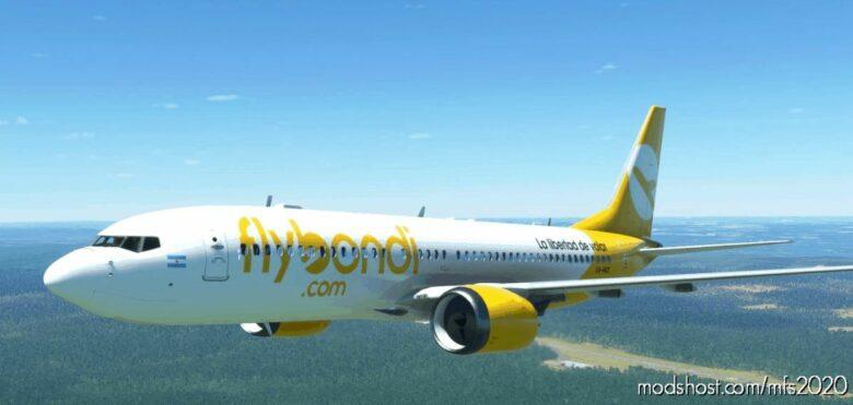 Bredok3D 737 MAX 8 | Flybondi for Microsoft Flight Simulator 2020