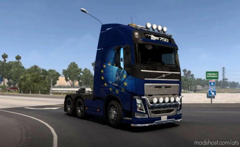 Volvo FH16 2009 / 2012 Truck [1.41.X] for American Truck Simulator